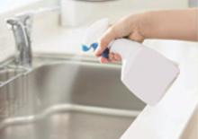 キッチン廻りに除菌水