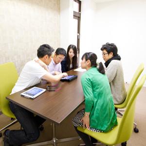 シェアオフィスcoloco神戸三宮会議室